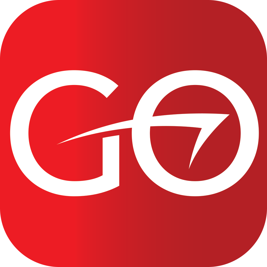 Red Vector Go Logo